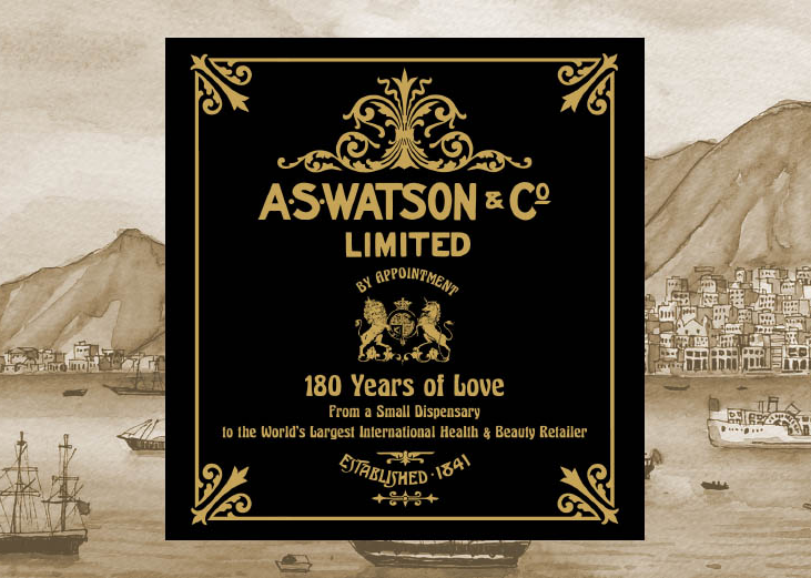1871 - All of The Hong Kong Dispensary change to A.S. Watson & Company